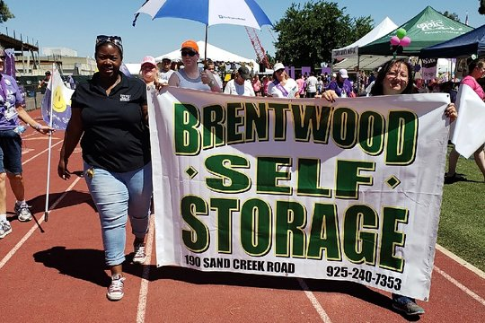 Brentwood Self Storage Raises over $500 for Relay for Life 2018