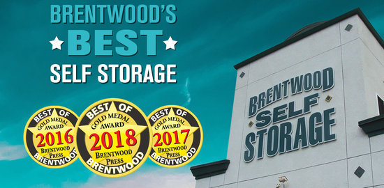 Best Self Storage in Brentwood 2018