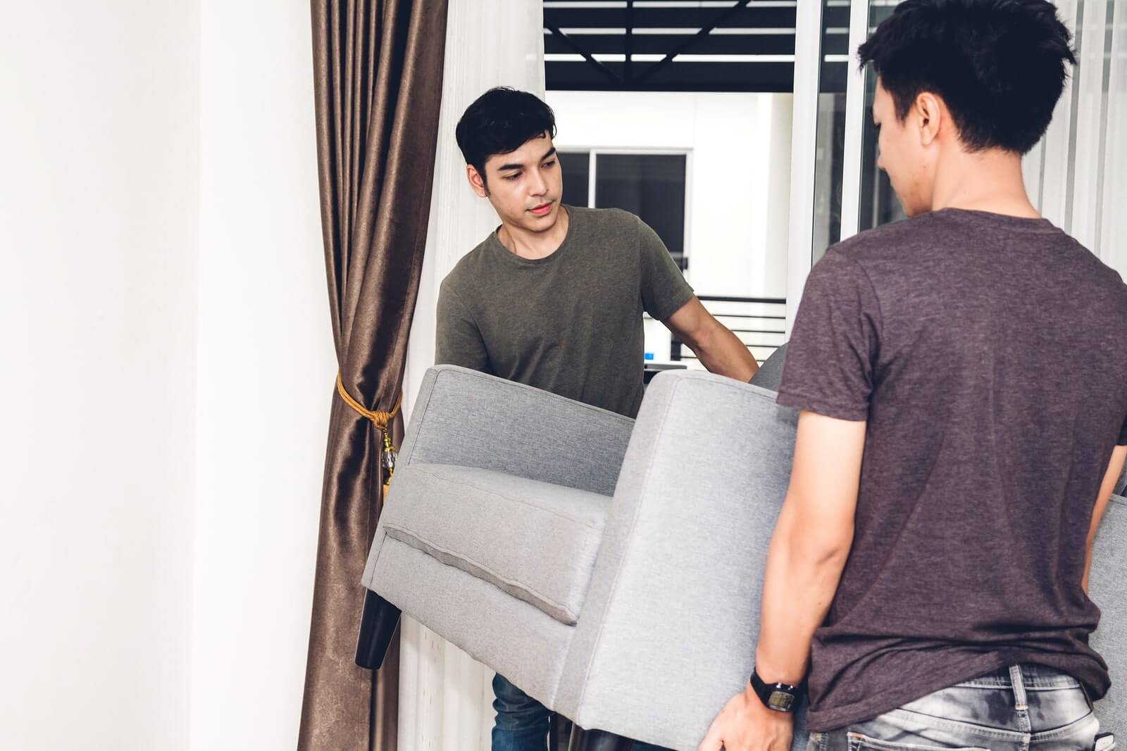 How to Store a Couch in Storage