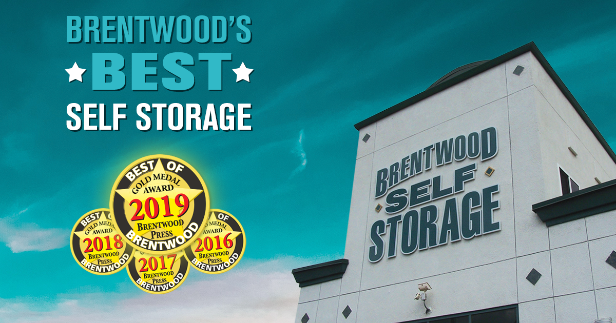 Best Self Storage in Brentwood 2019